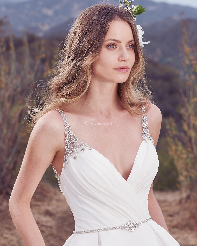 Increíble Rango De Precios Del Vestido De Novia Paloma Blanca Cresta ...