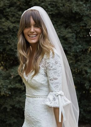 ODETTE HEADBAND VEIL, Grace Loves Lace