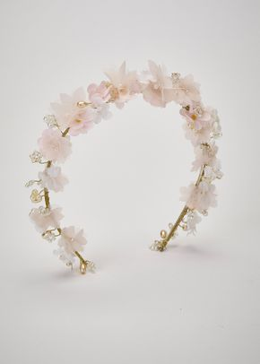 JUHETA CIRCLET SOFT PINK GOLD, Pronovias