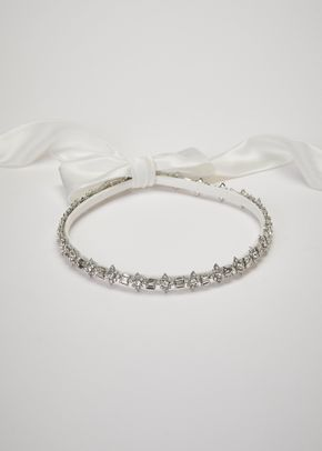 LOTTA CIRCLET SILVER OFF WHITE, Pronovias