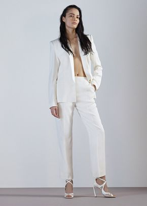ANELISE TROUSERS-IVORY CREPE, 134