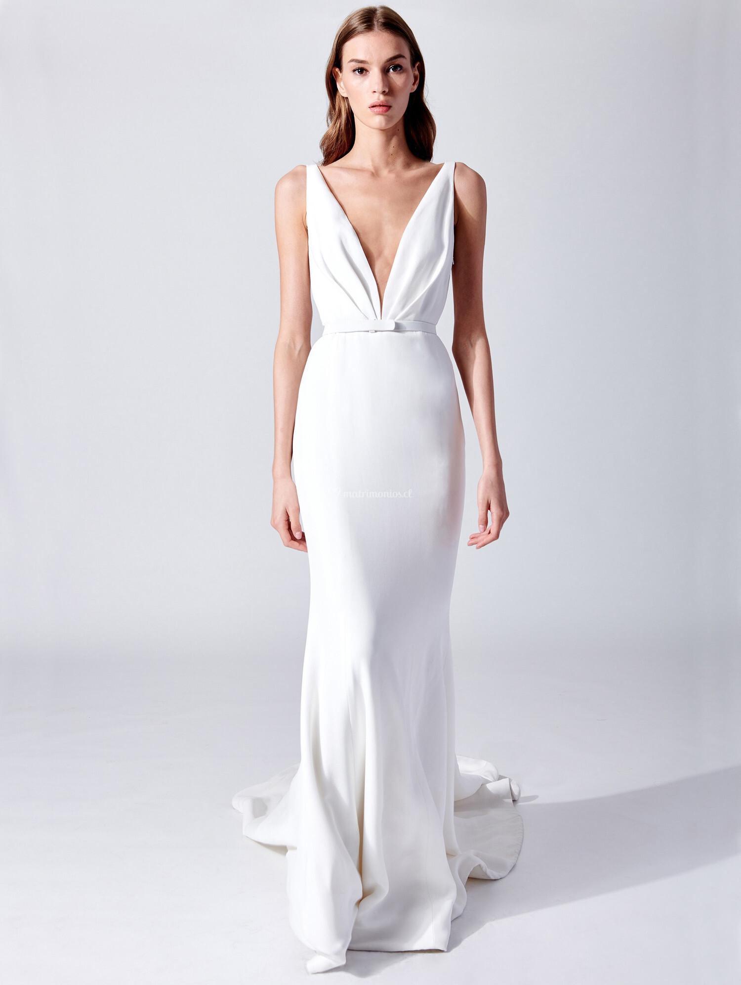 Oscar dela renta vestidos de novia 202019