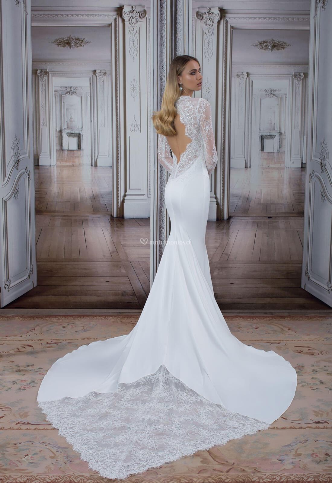 Vestidos de novia pnina tornai estilo sirena