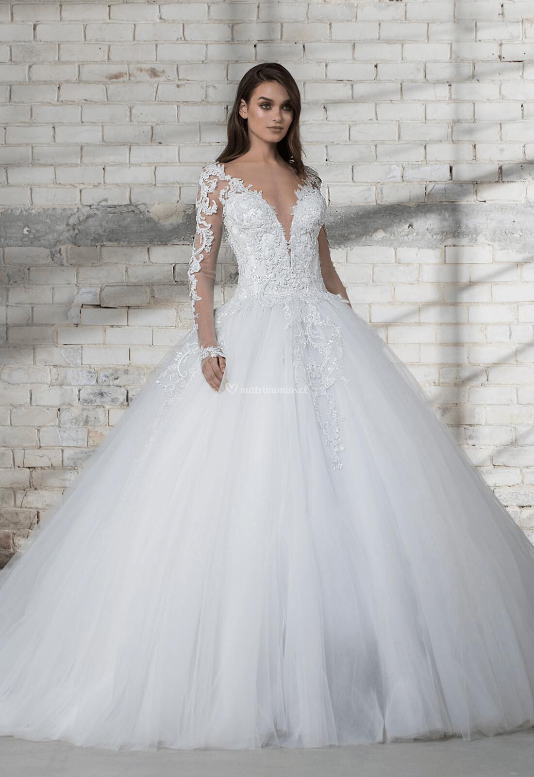 Pinina vestido de novia