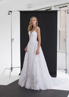 4730 DETACHABLE SKIRT, Pnina Tornai
