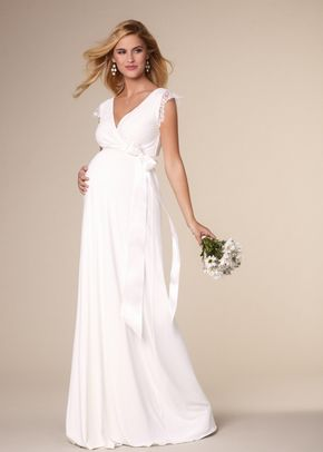 Rosa Gown Long Ivory, Tiffany Rose