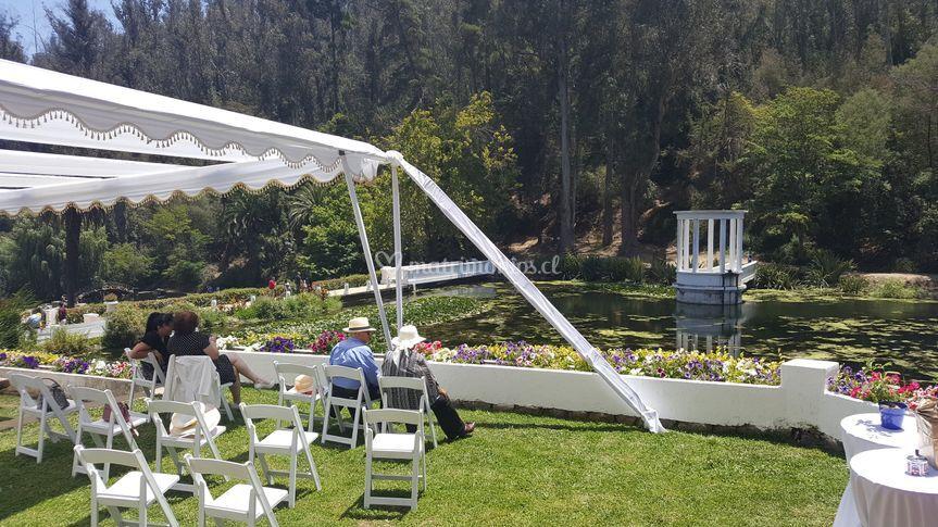 Matrimonio en Jardín Botánico