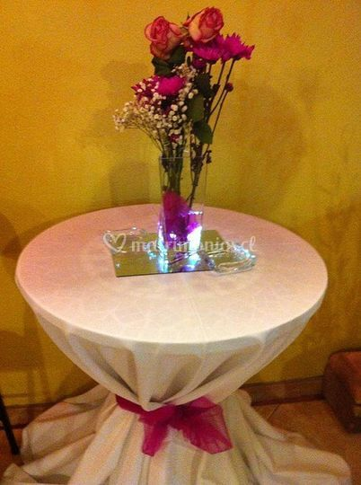 Flores de decoración