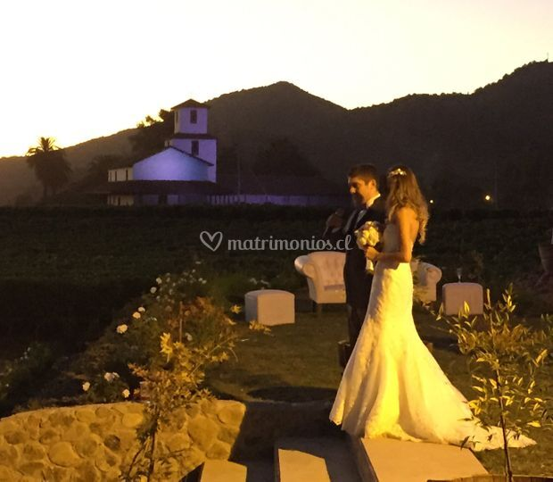 Matrimonio viña valle secreto