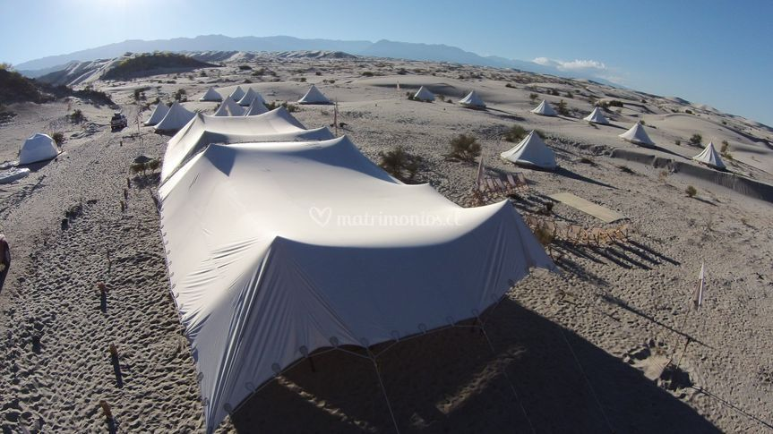 Eventos en zonas remotas