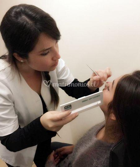 Preparación de la piel