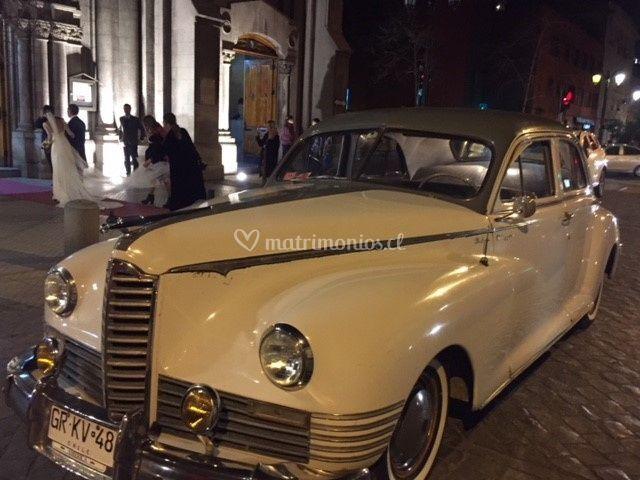 Packard blanco