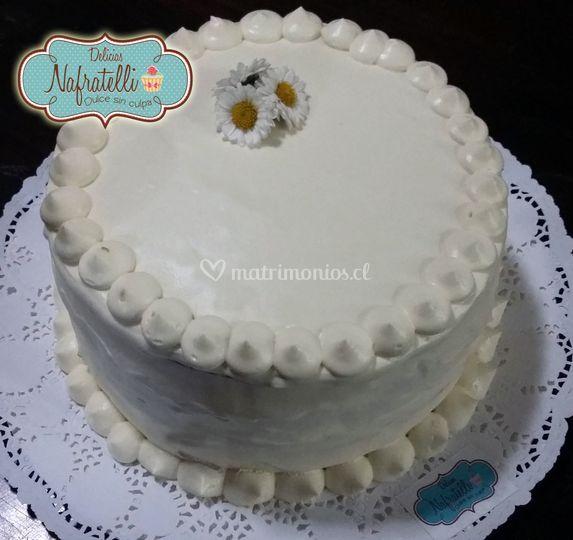 Torta piña con azucar