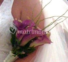 Ramo de flores violetas