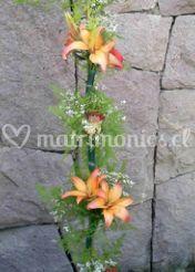Arreglo floral con liliums