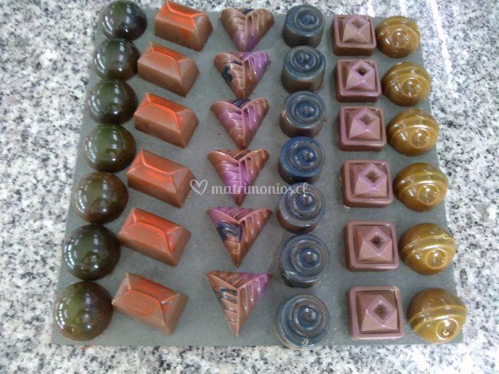 Bombones fino chocolate