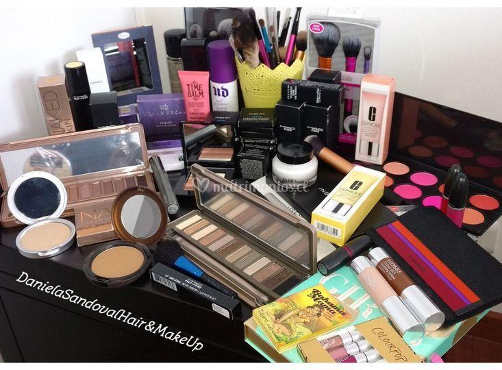 Algunos productos utilizados