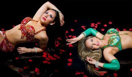 Bailarinas Árabes Odaliscas N&S 1