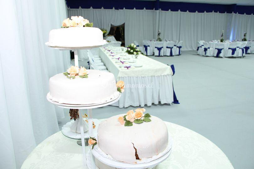 La torta de novios