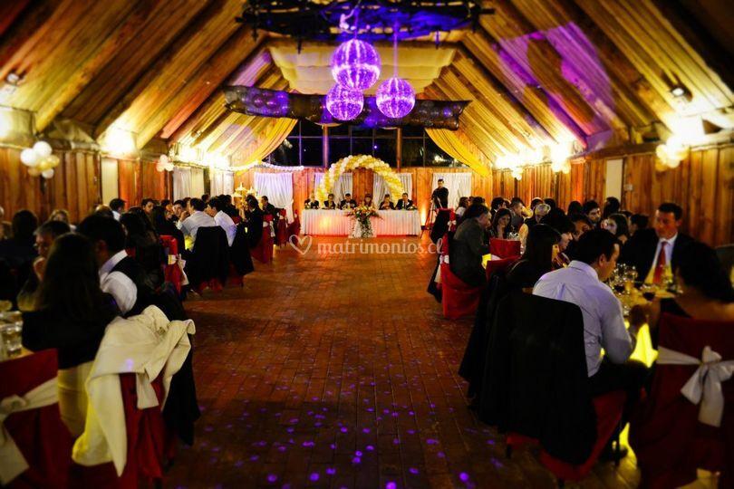 Cena de matrimonio