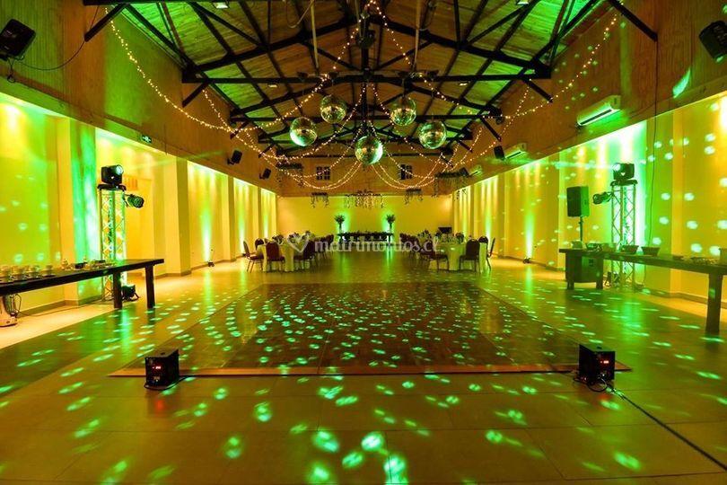 Iluminación Pista de Baile