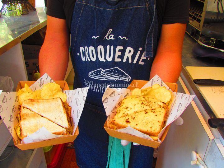 Sandwich la croquerie