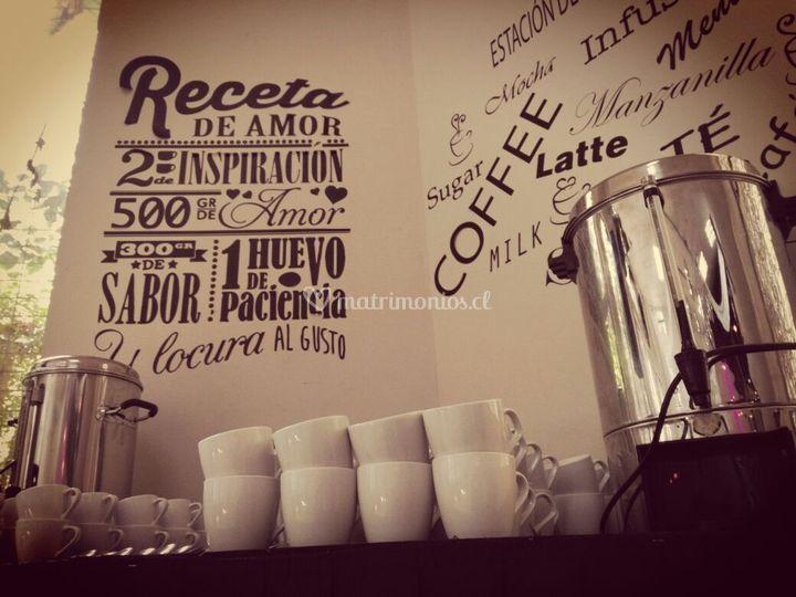 Estacion de café