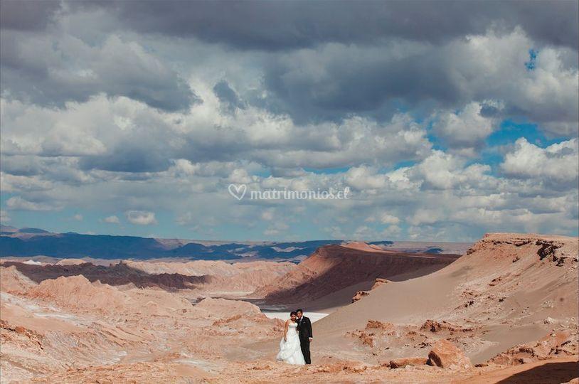 Sesión en San Pedro de Atacama