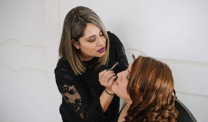 Macarena Nicole Make Up 1