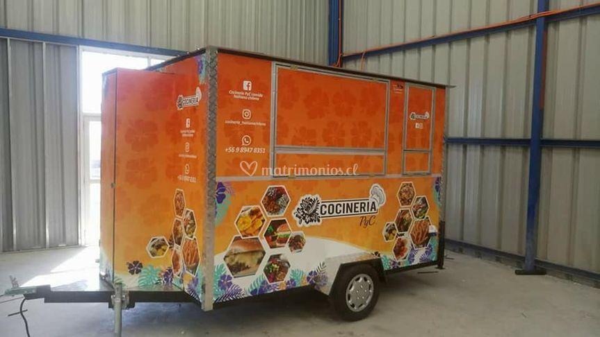 Food Truck para matrimonios