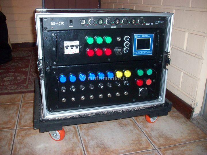 Distribuidor electri trifasico