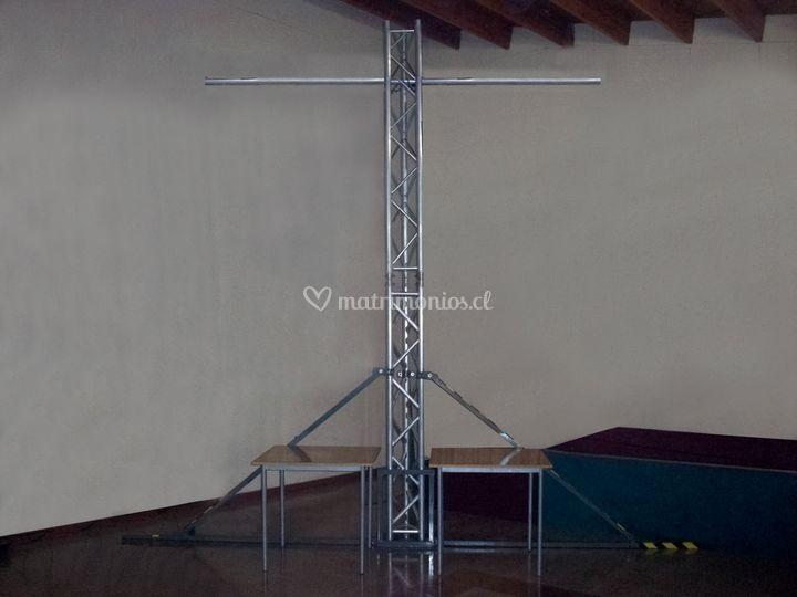 Torre T truss