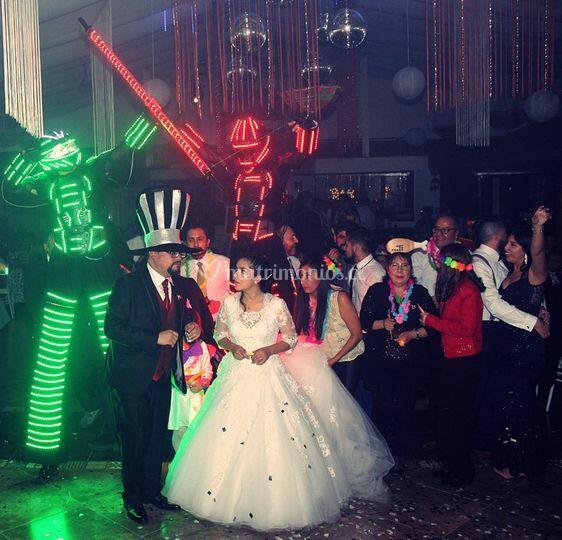 Corillon en matrimonio