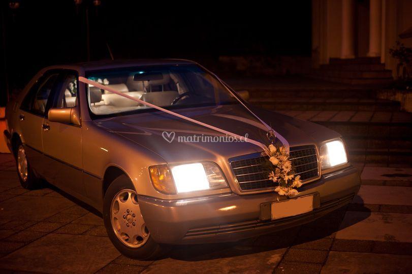 Mercedes Benz blindado