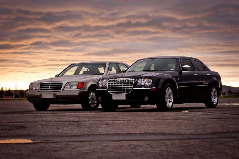 Chrysler y Mercedes Benz