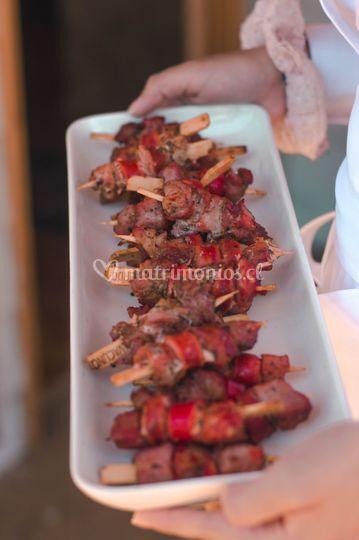 Brochetitas de carne