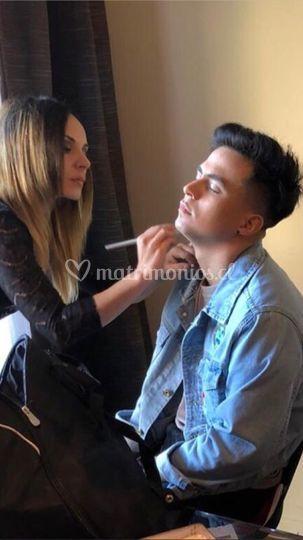 Maquillaje de Hombre