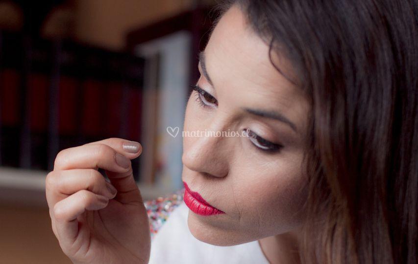 Making off novia Yanira Morales
