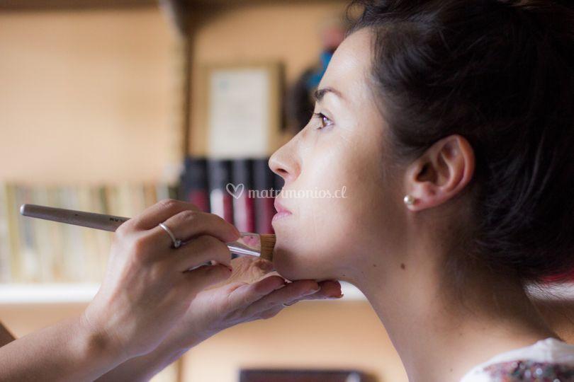 Making of novia Yanira