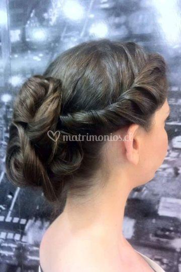 Peinado dama de honor