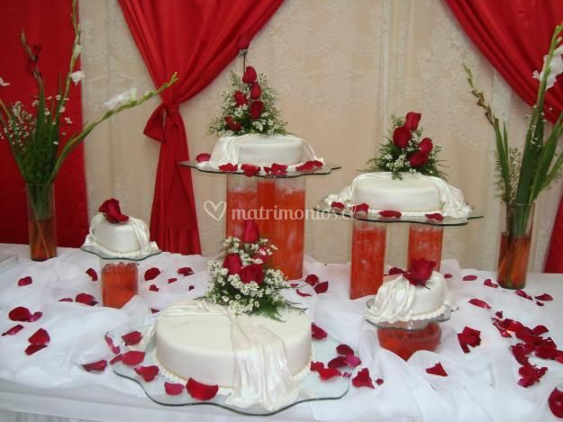 Presentación de la torta