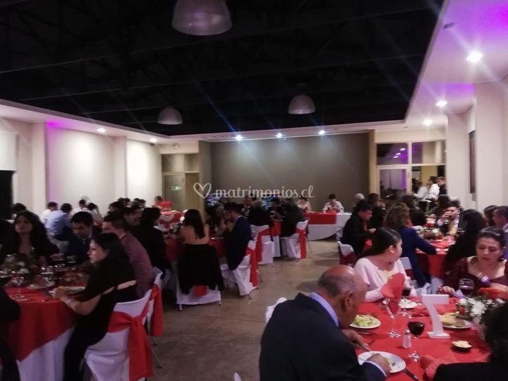 Cena fiesta matrimonio