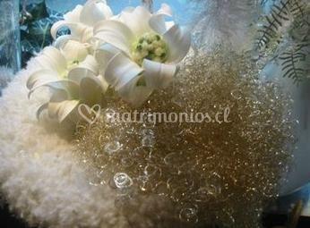 Bouquet de matrimonio con flor