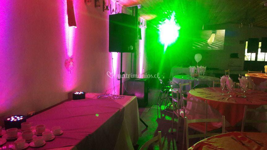 Iluminación de fiesta y decorativa