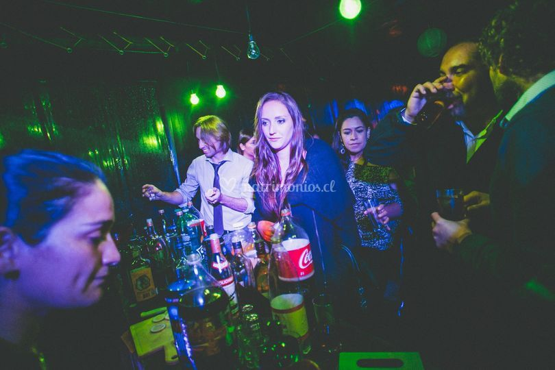 Bar y fiesta