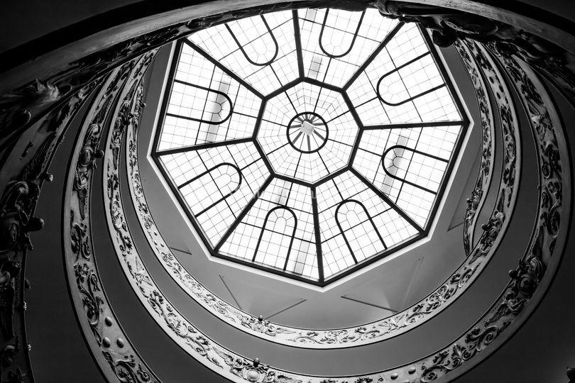 La escalera y camino hacia tí