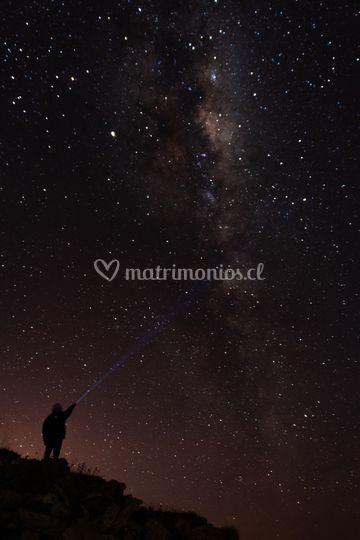 Pintando estrellas para ti