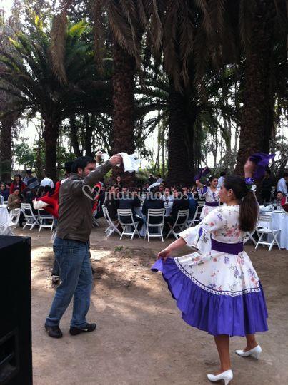 Celebración fiestas patria