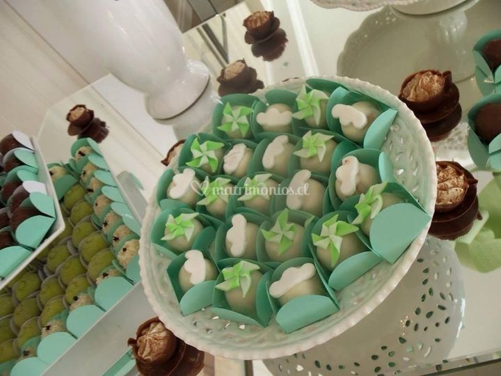 Cakeballs en cajitas