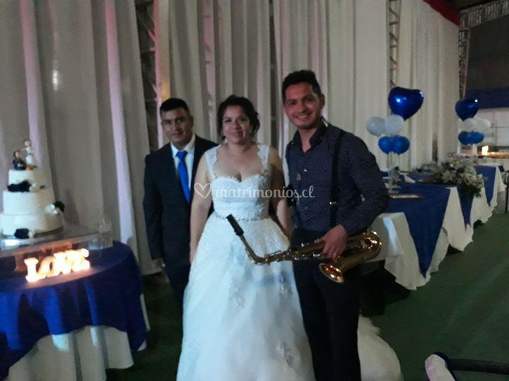 Amenización en boda molina